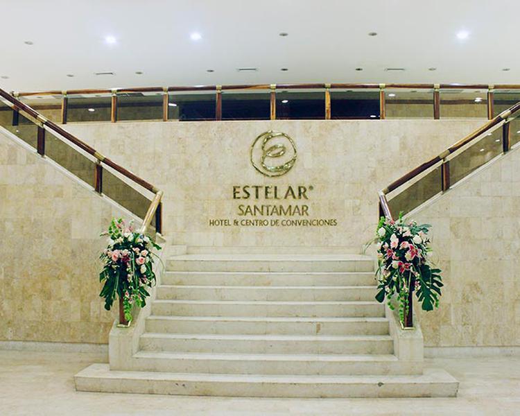 ENTRADA SALONES Hotel ESTELAR Santamar Hotel & Centro de Convenciones